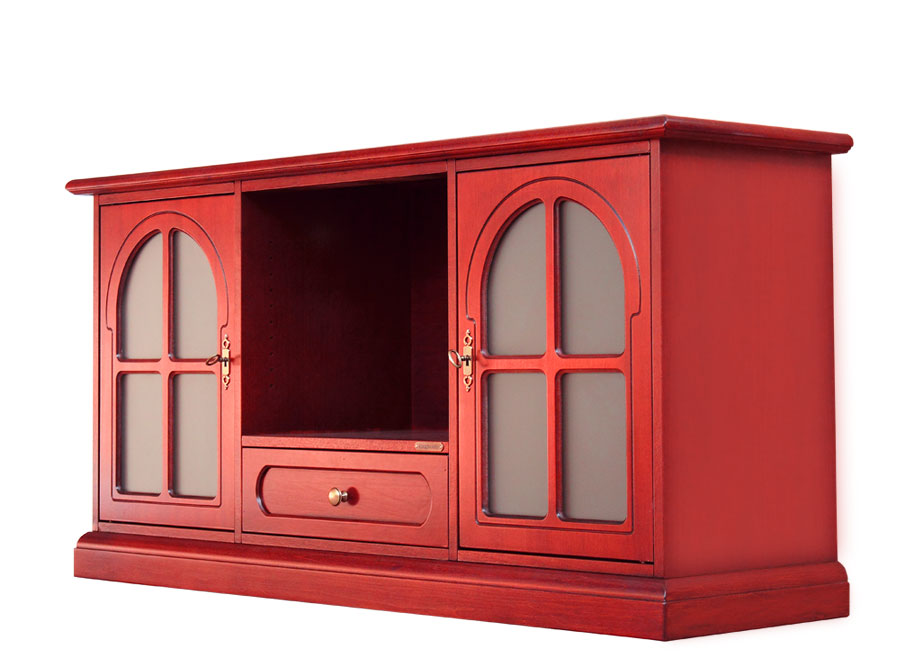 Red Tv Cabinet For Living Room. Sku 4040 T Red