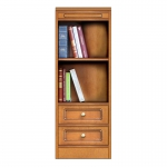 """""""Compos collection"""" - Small bookcase with 2 drawers, small bookcase, book storage, bookcase with drawers, arteferretto, made in italy"""