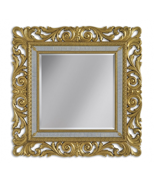 Majestic mirror in wood. Sku G021