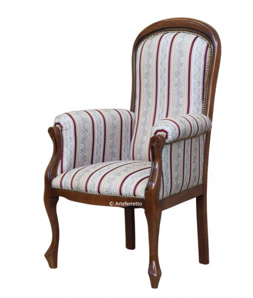 High backrest armchair for living room. Sku gm-054