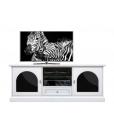 elegant tv unit, wood tv cabinet, wooden tv stand, wooden furniture, white furniture, white tv stand, 2 door tv unit, functional tv cabinet