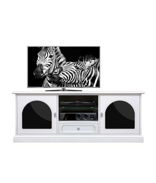 Elegant  tv unit black and white. Sku 3059-pl