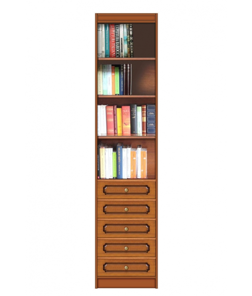 Space saving open bookcase. Sku ec-com-11