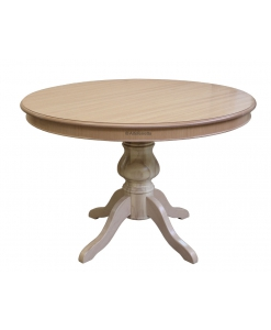 natural wood table, round table, extendable table, classic table, Arteferretto