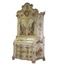 wood trumeau, decorated trumeau, venetian trumeau, decorated furniture, cupboard, sideboard, traditional furniture, art masterpiece, Arteferretto