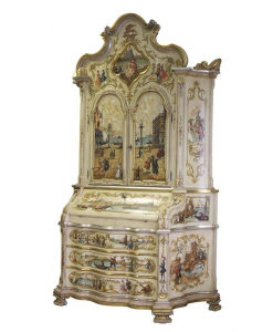wood trumeau, decorated trumeau, venetian trumeau, decorated furniture, cupboard, sideboard, traditional furniture, art masterpiece, Arteferretto