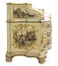 Venetian trumeau, wood trumeau, decorated trumeau, masterpiece furniture, decorated furniture, artistic furniture, Venetian art, traditional trumeau in wood, Arteferretto