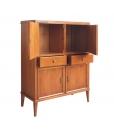 wood cupboard, 4 doors cupboard, classic cupboard, living room sideboar, living room cupboard, Arteferretto