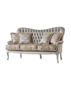 3 seater sofa, classic sofa, soft couch, upholstered couch, classic couch, Arteferretto