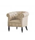 Buttoned tub armchair, tub chair, classic armchair, living room armchair, classic style armchair, Arteferretto