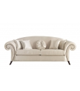 upholstered couch, living room counf, Arteferretto, Upholstered classic sofa, 3 seater sofa,