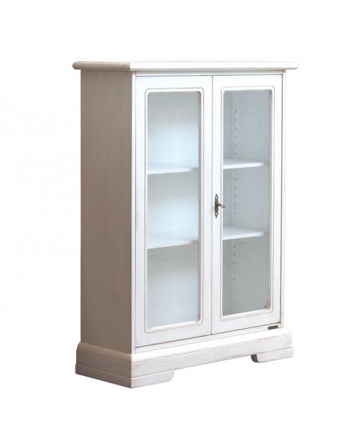 Glass door showcase.  Sku 1119-av