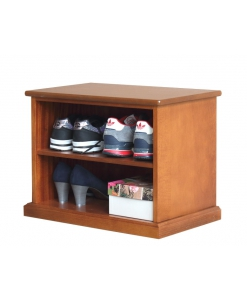 space saving shoes cabinet, shoes cupboard, shoes rack in wood, shoes shelves, wood cabinet for shoes. Arteferretto