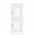2-door cabinet, narrow sideboard, wooden storage, made in italy, arteferretto