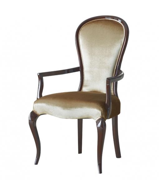 Solid wood head chair. Sku  ms-49c