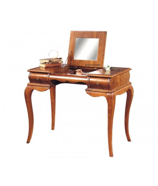 Flip top mirror vanity table. Sku. P727