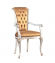 dining chair, chair with armrests, armrests chair, armchair, dining armchair, classic armchair, wood chair, Arteferretto