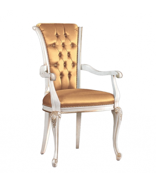 Dining armrests chair in traditional style. Sku bs-c345