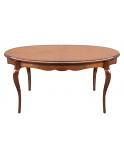 Extendable dining table, wood fining table, solid wood table, wooden table, oval table, extendable oval table, Arteferretto