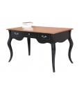 Two tones classic desk, wooden desk, classic desk, writing desk, office desk, bureau desk, Arteferretto