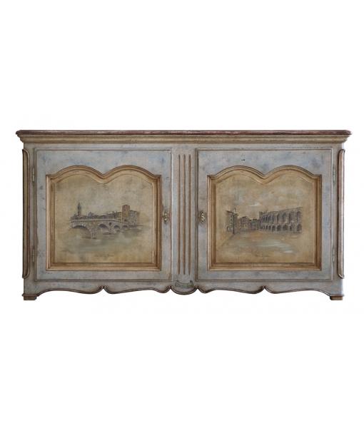 Decorated sideboard Old Verona. Sku: OLD-VR