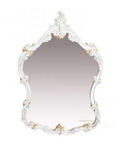 wood frame mirror, entryway mirror, wall mirror, classic style mirror, Arteferretto
