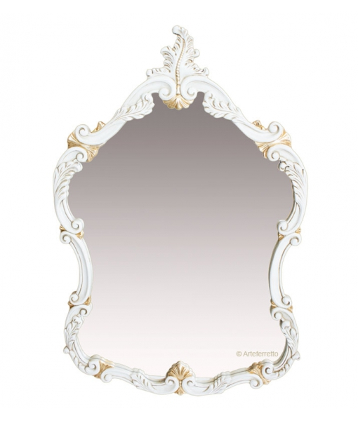 Wood frame mirror. Sku 040-SP