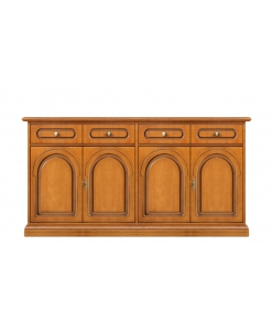 wooden cupboard, sideboard, wood furniture, wood cabinet, living room sideboard, Arteferretto