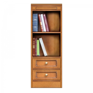 """Compos collection"" - Small bookcase with 2 drawers, small bookcase, book storage, bookcase with drawers, arteferretto, made in italy"