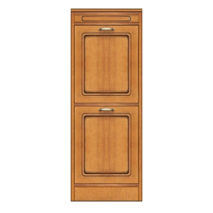 2-door cabinet, narrow sideboard, wooden storage, made in italy, arteferretto