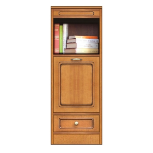 Multi-purpose cabinet, modular narrow sideboard, made in italy, arteferretto
