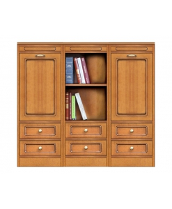 low sideboard, low cupboard, living room cabinet, dining room cabinet, wood furniture, classic style sideboard, Arteferretto
