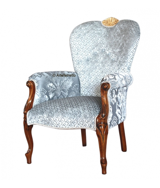 Upholstered living armchair. SKU GM-RG1