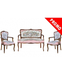 Romeo Juliet sofa, classic sofa, romantic sofa, 2 seats sofa, two seaters sofa, Arteferretto