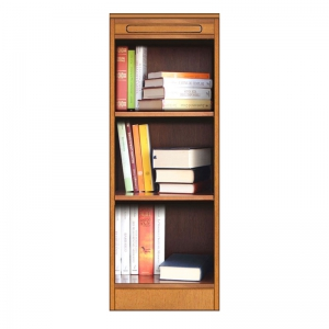 small bookcase, wood bookcase, made in italy
