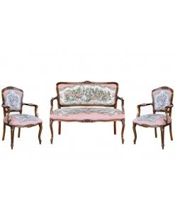 Romeo Juliet sofa, classic sofa, romantic sofa, 2 seats sofa, two seaters sofa, Arteferretto