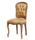 upholstered dining chair, wood chair, padded chair, classic chair, dining chair, dining room chair, Arteferretto