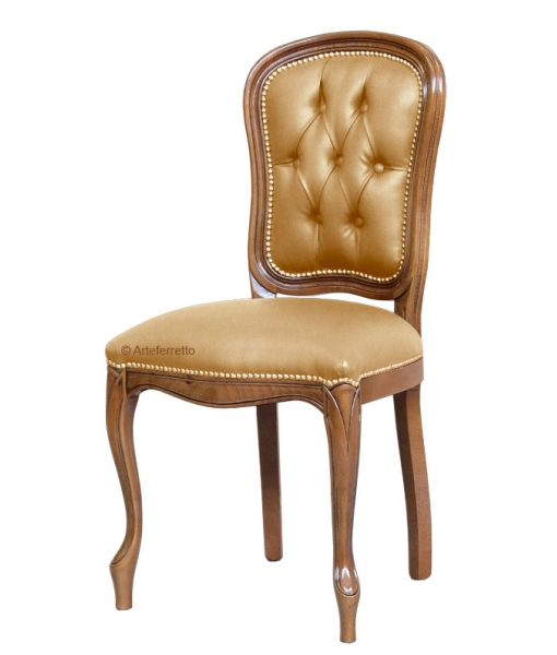 Upholstered dining chair in classic style. Sku fag-a71