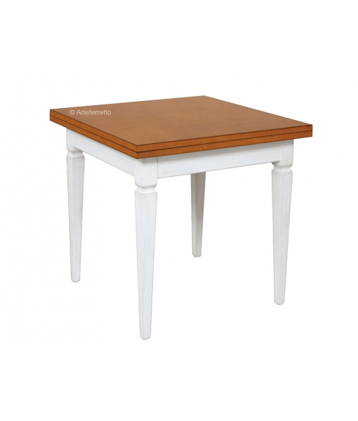 Two tonw flip top table 80 x 80 cm. Sku fv-20280_bic