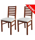 couple of chairs, traditional chair, everyday use chair, solid beech wood chair, white fabric chair, wooden chair, kitchen chair, dining chair