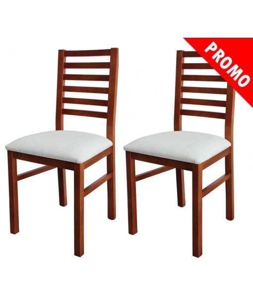 Couple of beech wood chairs. Sku fr-222-promo