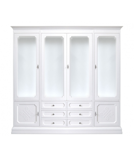 Classic wall display cabinet in wood. Sku 2004-you