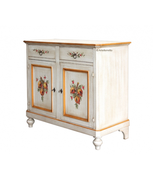 decorated sideboard, wooden sideboard, solid wood sideboard, poor art sideboard, cupboard, classic style cupboard,