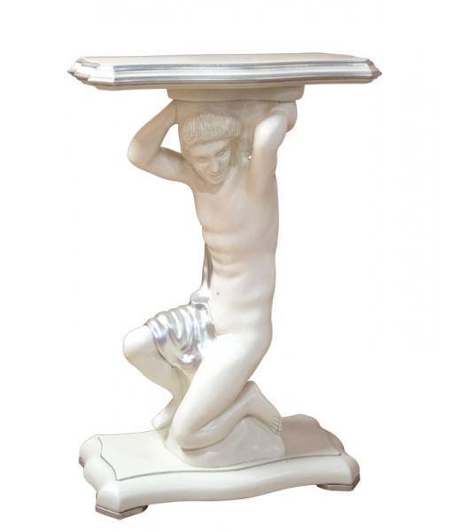 Carved pedestal stand. Sku sm-10