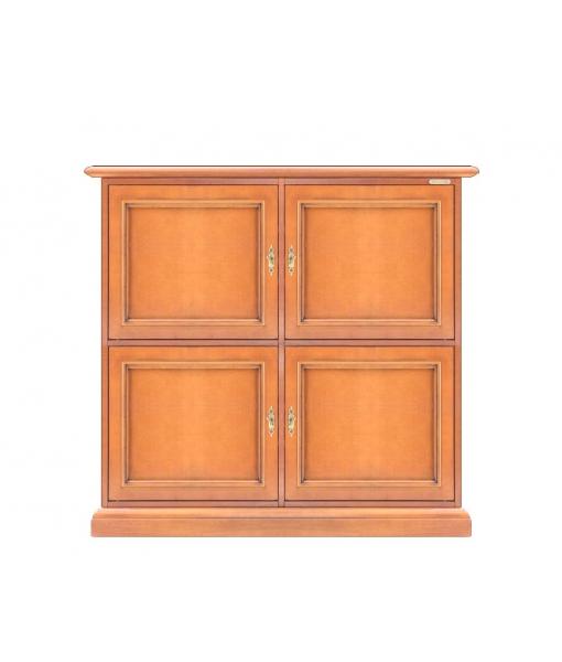 Storage wood cabinet. Sku 4830