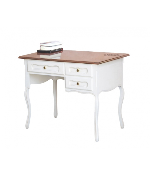 Provence style desk two tone. Sku 648-bic