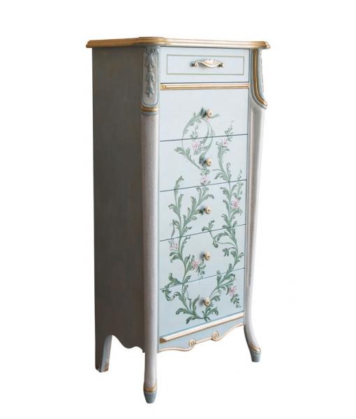 Elegant chest of drawer Beautiful line, Sku. 6709-gr4