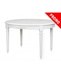 oval extendable table, wooden table, dining room table, empire style table,