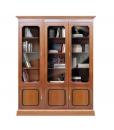 classic bookcase, Arteferretto furniture, wooden bookcase, showcase, living room furniture