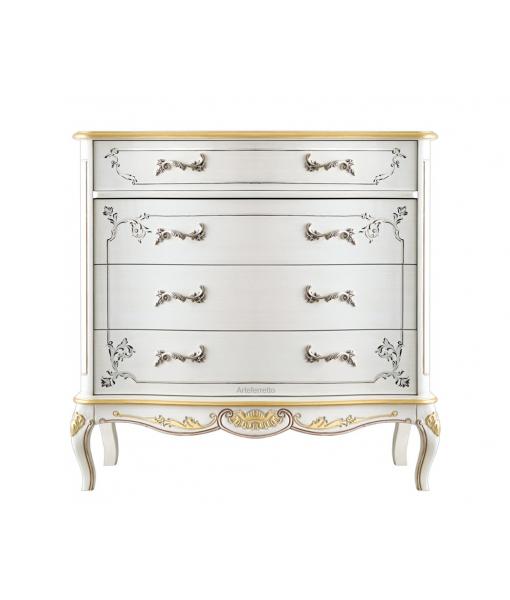 Decorated dresser in wood. Sku A213-V